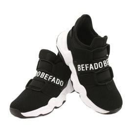 Befado obuwie dziecięce  516Y066 czarne 4
