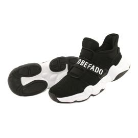Befado obuwie młodzieżowe  516Q066 czarne 3