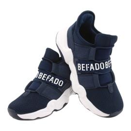 Befado obuwie dziecięce  516X065 granatowe 4