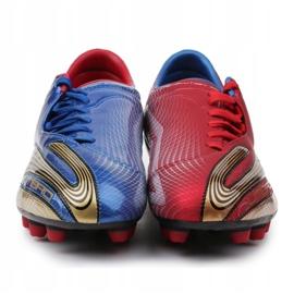 Buty piłkarskie Umbro Revolution Fce II-A Hg M 886669-6CT wielokolorowe granatowy, czerwony, niebieski 1