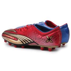 Buty piłkarskie Umbro Revolution Fce II-A Hg M 886669-6CT wielokolorowe granatowy, czerwony, niebieski 4