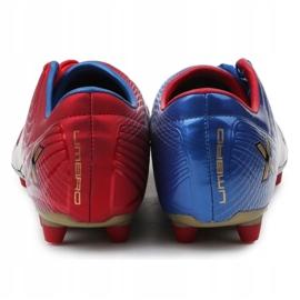 Buty piłkarskie Umbro Revolution Fce II-A Hg M 886669-6CT wielokolorowe granatowy, czerwony, niebieski 5
