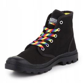 Buty Palladium Pampa Pride Black/Rainbow W 76521-054-M czarne 2