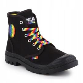 Buty Palladium Pampa Pride Black/Rainbow W 76521-054-M czarne 3