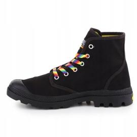 Buty Palladium Pampa Pride Black/Rainbow W 76521-054-M czarne 4