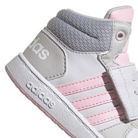 Buty adidas Hoops Mid 2.0 I Jr FY9290 czerwone 3