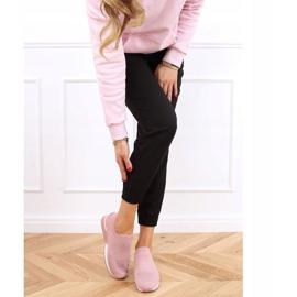 Buty sportowe skarpetkowe różowe LDH006 Pink 2