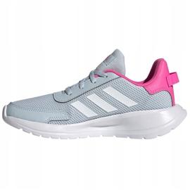 Buty adidas Tensaur Run K Jr FY7288 niebieskie 1
