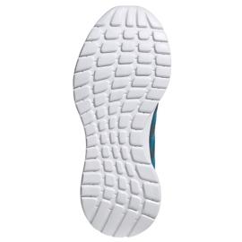 Buty adidas Tensaur Run K Jr FY7289 niebieskie 4