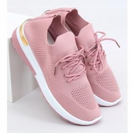 Buty sportowe skarpetkowe różowe G-363 Pink 3