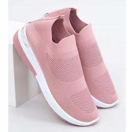 Buty sportowe skarpetkowe różowe G-362 Pink 3