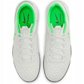 Buty piłkarskie Nike Tiempo Legend 8 Academy Tf AT6100 030 białe białe 1