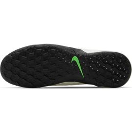 Buty piłkarskie Nike Tiempo Legend 8 Academy Tf AT6100 030 białe białe 5