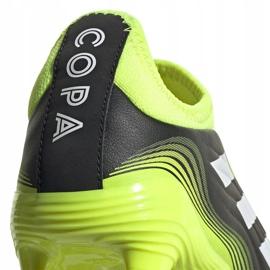 Buty piłkarskie adidas Copa Sense.3 Ll Fg Junior FX1982 żółte czarne 3