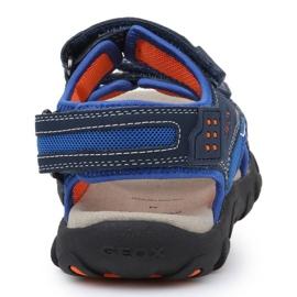 Sandały Geox S Strada B Jr J9224B-014CE-C0659 granatowe niebieskie 5