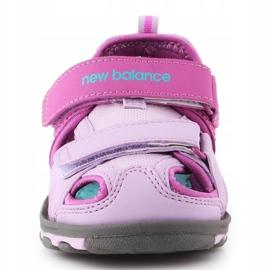 Sandały New Balance Kids Expedition Sandal K2005GP niebieskie różowe 1
