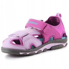 Sandały New Balance Kids Expedition Sandal K2005GP niebieskie różowe 2