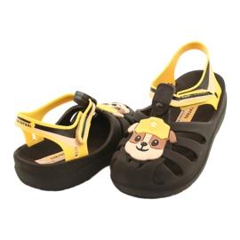 Sandałki Paw Patrol Friends S Ipanema 21994 Rubble beżowy brązowe żółte 2