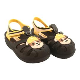 Sandałki Paw Patrol Friends S Ipanema 21994 Rubble beżowy brązowe żółte 4