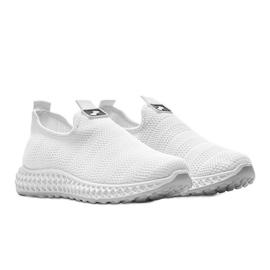 Białe obuwie sportowe wsuwane Katy 1