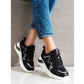 Weide Wygodne Stylowe Sneakersy czarne 3