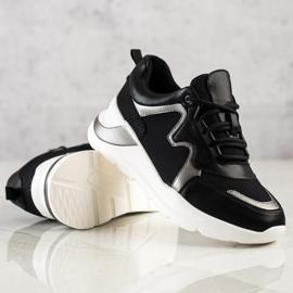 Weide Wygodne Stylowe Sneakersy czarne 1