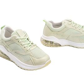 Zielone obuwie sportowe damskie Alize 3