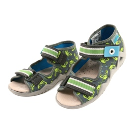 Befado sandały obuwie dziecięce  350P023 zielone 1