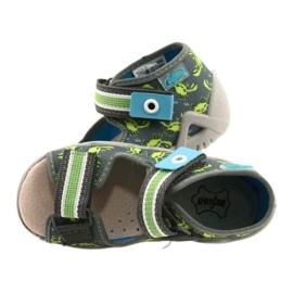 Befado sandały obuwie dziecięce  350P023 zielone 4