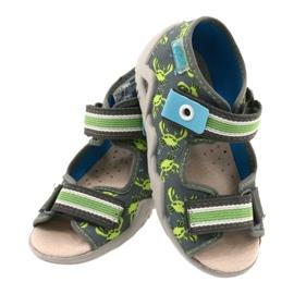 Befado sandały obuwie dziecięce  350P023 zielone 3