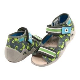 Befado sandały obuwie dziecięce  350P023 zielone 2