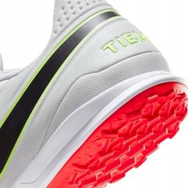 Buty piłkarskie Nike Tiempo Legend 8 Academy Tf AT6100 106 białe 7