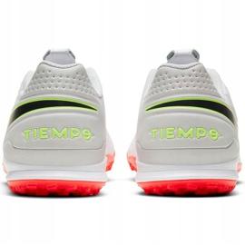 Buty piłkarskie Nike Tiempo Legend 8 Academy Tf AT6100 106 białe 4