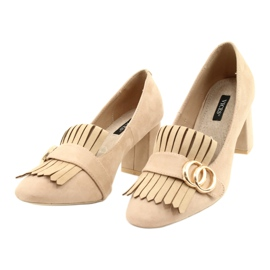 Vices 9006-14 Beige 35 40 beżowy 1