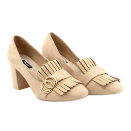 Vices 9006-14 Beige 35 40 beżowy 3