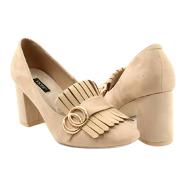 Vices 9006-14 Beige 35 40 beżowy 2