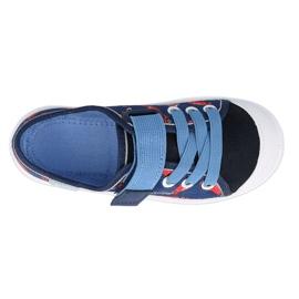 Trampki Befado obuwie dziecięce 251X160 czerwone granatowe niebieskie 2