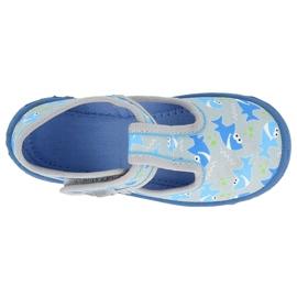BUTY CHŁOPIĘCE HONEY BEFADO - 531P091 niebieskie szare 1