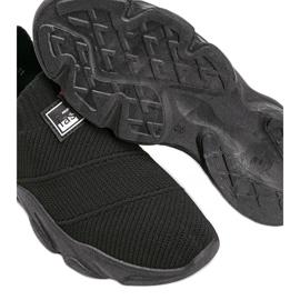 Czarne sneakersy sportowe Justice 3