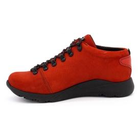 ButBal Damskie buty trekkingowe 674BB czerwone 1
