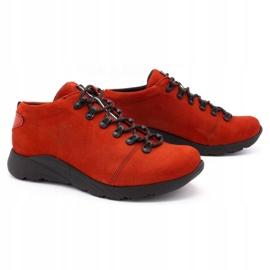ButBal Damskie buty trekkingowe 674BB czerwone 2