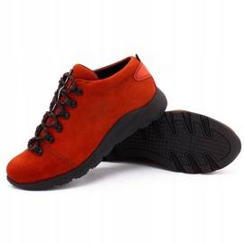 ButBal Damskie buty trekkingowe 674BB czerwone 3