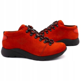 ButBal Damskie buty trekkingowe 674BB czerwone 5