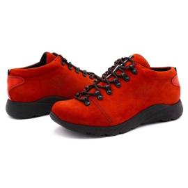 ButBal Damskie buty trekkingowe 674BB czerwone 6