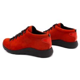 ButBal Damskie buty trekkingowe 674BB czerwone 7