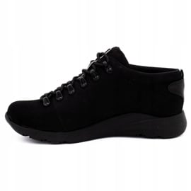 ButBal Damskie buty trekkingowe 674BB czarne 1