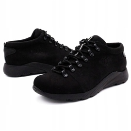 ButBal Damskie buty trekkingowe 674BB czarne 6