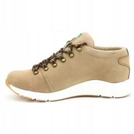 ButBal Damskie buty trekkingowe 674BB beżowe beżowy 2