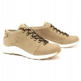 ButBal Damskie buty trekkingowe 674BB beżowe beżowy 3