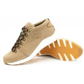 ButBal Damskie buty trekkingowe 674BB beżowe beżowy 4